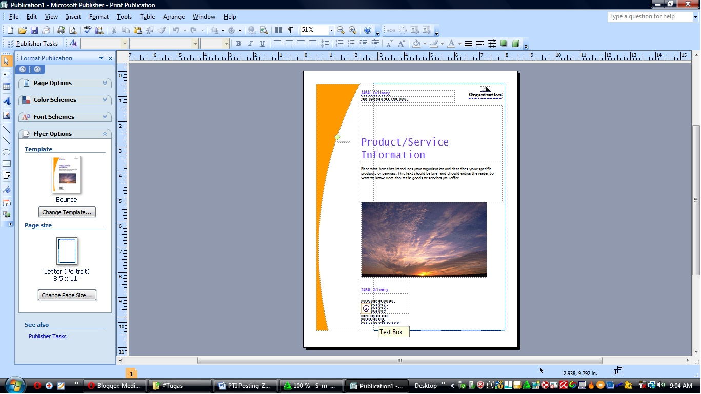 Poster templates for microsoft publisher